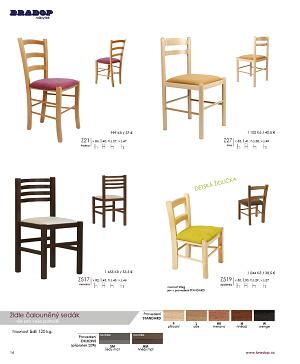 Jídelní stoly a židle Bradop