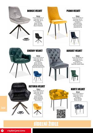 Jídelní židle Jamall