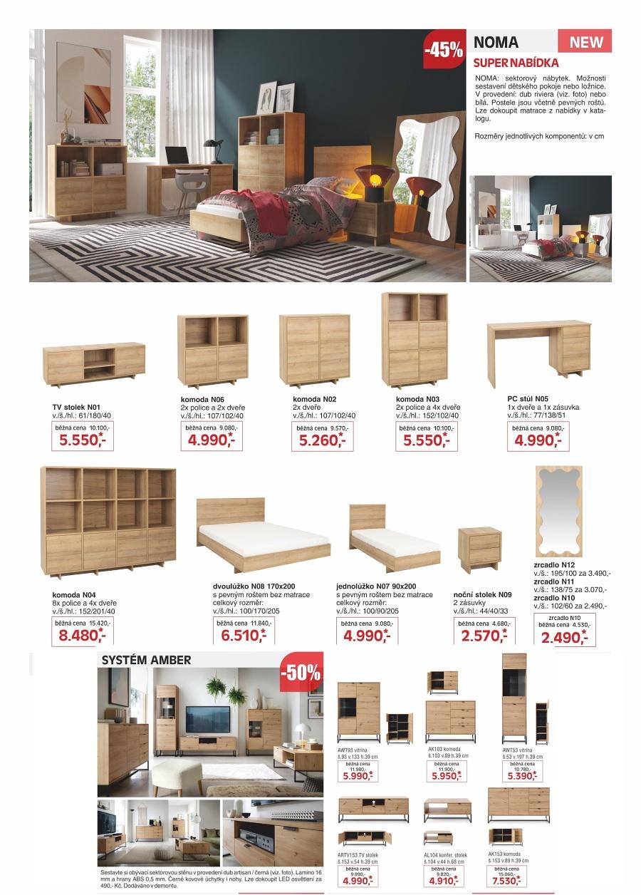 Obývací stěny Kasvo nábytek